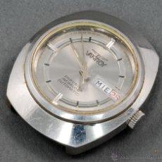 Relojes automáticos: RELOJ AUTOMÁTICO VANROY 25 RUBIS INCABLOC ESFERA GRIS FUNCIONA. Lote 54404473