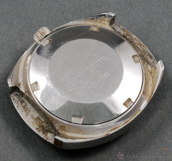 Relojes automáticos: Reloj automático Vanroy 25 rubis Incabloc esfera gris Funciona - Foto 2 - 54404473
