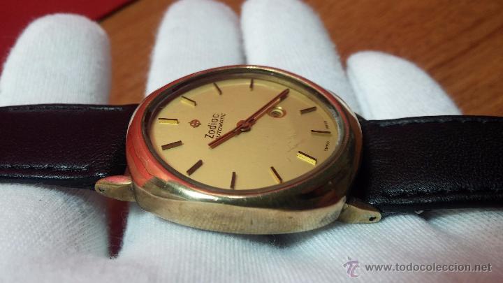RELOJ ZODIAC AUTOMATICO VINTAGE, LTD 34 CALIBRE 2671, DE 17 JEWELS, AÑOS 70... (Relojes - Relojes Automáticos)