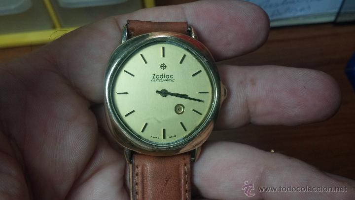 Relojes automáticos: Reloj Zodiac Automatico vintage, LTD 34 calibre 2671, de 17 jewels, años 70... - Foto 2 - 54432759