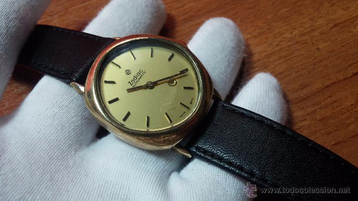 Relojes automáticos: Reloj Zodiac Automatico vintage, LTD 34 calibre 2671, de 17 jewels, años 70... - Foto 3 - 54432759