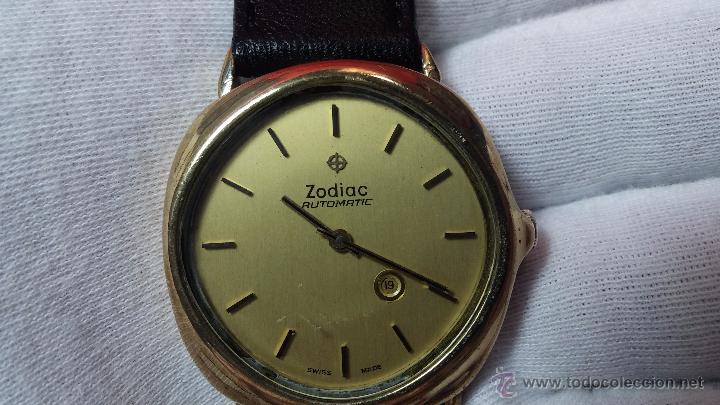Relojes automáticos: Reloj Zodiac Automatico vintage, LTD 34 calibre 2671, de 17 jewels, años 70... - Foto 4 - 54432759