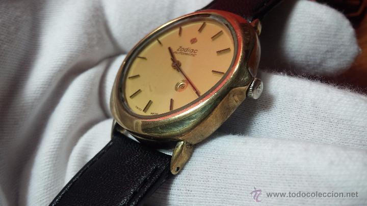 Relojes automáticos: Reloj Zodiac Automatico vintage, LTD 34 calibre 2671, de 17 jewels, años 70... - Foto 5 - 54432759