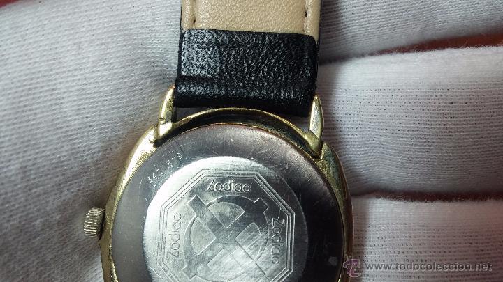 Relojes automáticos: Reloj Zodiac Automatico vintage, LTD 34 calibre 2671, de 17 jewels, años 70... - Foto 8 - 54432759