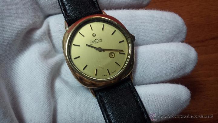 Relojes automáticos: Reloj Zodiac Automatico vintage, LTD 34 calibre 2671, de 17 jewels, años 70... - Foto 12 - 54432759