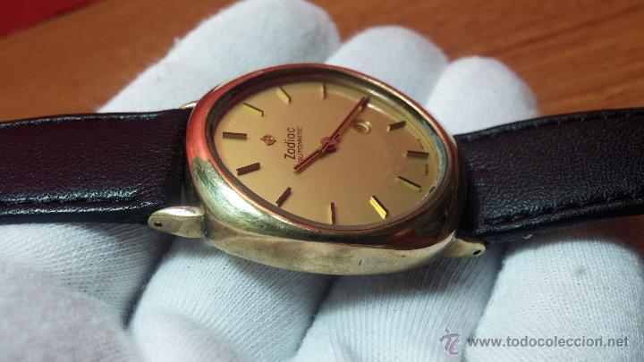 Relojes automáticos: Reloj Zodiac Automatico vintage, LTD 34 calibre 2671, de 17 jewels, años 70... - Foto 15 - 54432759