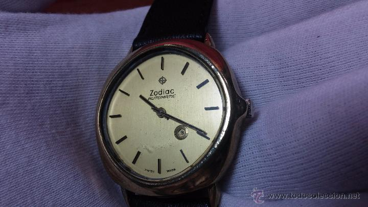 Relojes automáticos: Reloj Zodiac Automatico vintage, LTD 34 calibre 2671, de 17 jewels, años 70... - Foto 16 - 54432759