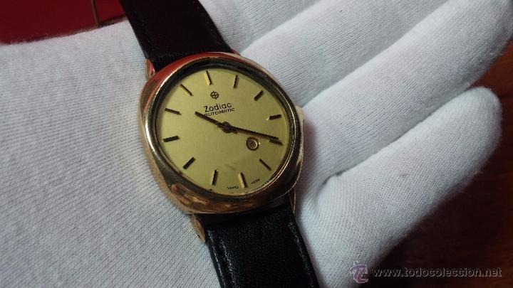 Relojes automáticos: Reloj Zodiac Automatico vintage, LTD 34 calibre 2671, de 17 jewels, años 70... - Foto 17 - 54432759