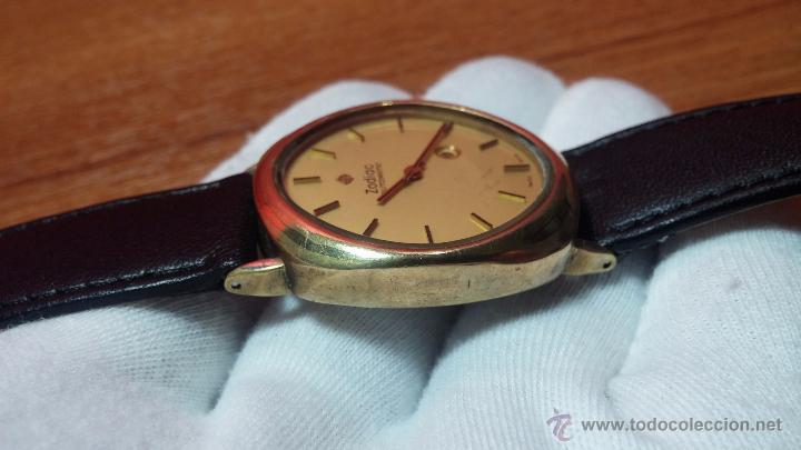 Relojes automáticos: Reloj Zodiac Automatico vintage, LTD 34 calibre 2671, de 17 jewels, años 70... - Foto 18 - 54432759