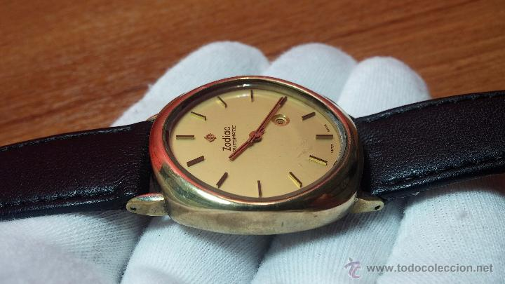 Relojes automáticos: Reloj Zodiac Automatico vintage, LTD 34 calibre 2671, de 17 jewels, años 70... - Foto 19 - 54432759