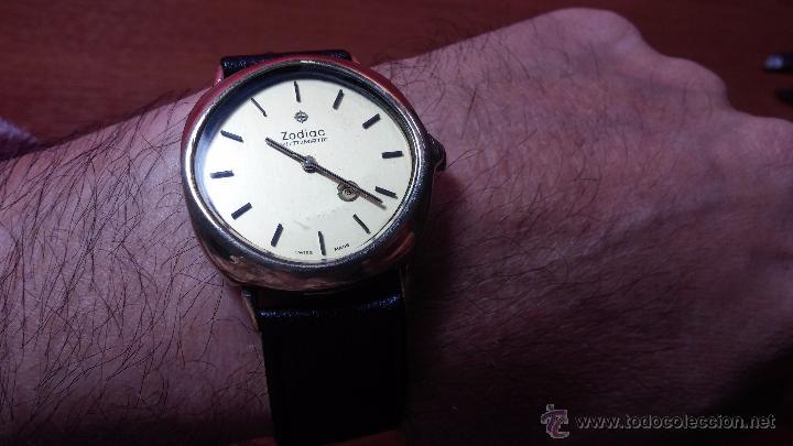 Relojes automáticos: Reloj Zodiac Automatico vintage, LTD 34 calibre 2671, de 17 jewels, años 70... - Foto 20 - 54432759