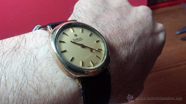 Relojes automáticos: Reloj Zodiac Automatico vintage, LTD 34 calibre 2671, de 17 jewels, años 70... - Foto 21 - 54432759