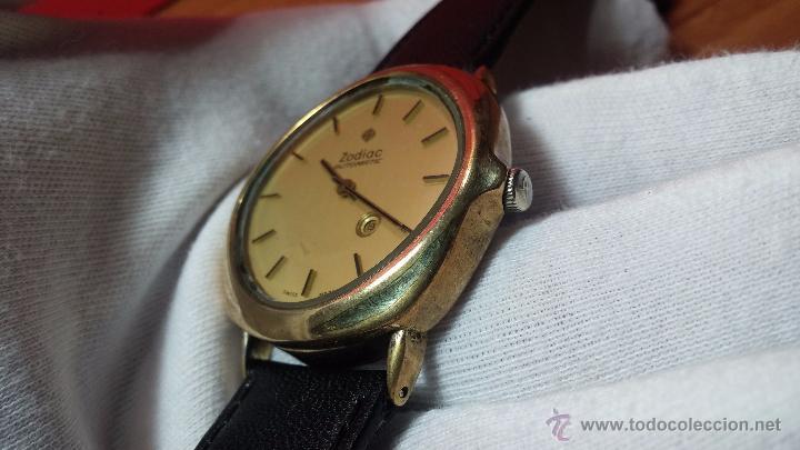 Relojes automáticos: Reloj Zodiac Automatico vintage, LTD 34 calibre 2671, de 17 jewels, años 70... - Foto 22 - 54432759