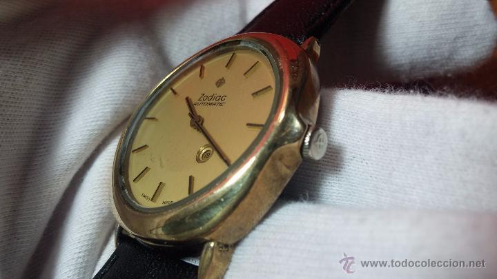 Relojes automáticos: Reloj Zodiac Automatico vintage, LTD 34 calibre 2671, de 17 jewels, años 70... - Foto 23 - 54432759