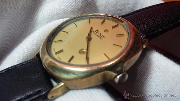 Relojes automáticos: Reloj Zodiac Automatico vintage, LTD 34 calibre 2671, de 17 jewels, años 70... - Foto 24 - 54432759