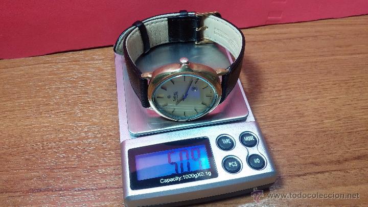 Relojes automáticos: Reloj Zodiac Automatico vintage, LTD 34 calibre 2671, de 17 jewels, años 70... - Foto 25 - 54432759
