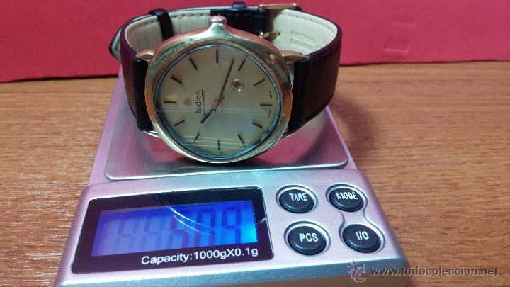 Relojes automáticos: Reloj Zodiac Automatico vintage, LTD 34 calibre 2671, de 17 jewels, años 70... - Foto 27 - 54432759