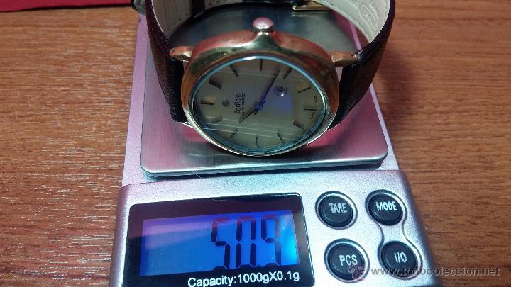 Relojes automáticos: Reloj Zodiac Automatico vintage, LTD 34 calibre 2671, de 17 jewels, años 70... - Foto 28 - 54432759
