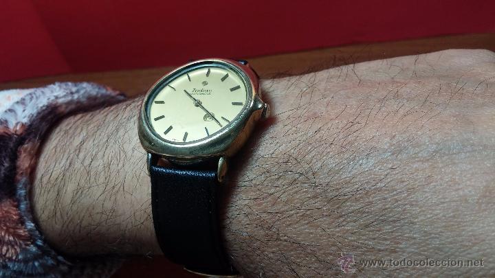Relojes automáticos: Reloj Zodiac Automatico vintage, LTD 34 calibre 2671, de 17 jewels, años 70... - Foto 30 - 54432759