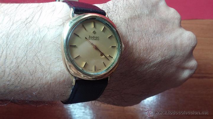 Relojes automáticos: Reloj Zodiac Automatico vintage, LTD 34 calibre 2671, de 17 jewels, años 70... - Foto 33 - 54432759