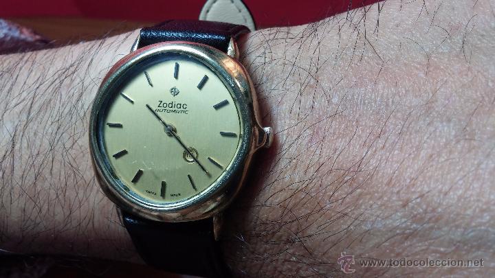 Relojes automáticos: Reloj Zodiac Automatico vintage, LTD 34 calibre 2671, de 17 jewels, años 70... - Foto 34 - 54432759
