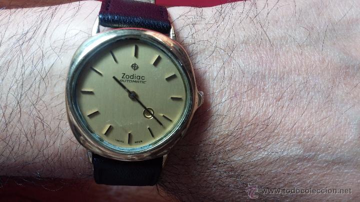Relojes automáticos: Reloj Zodiac Automatico vintage, LTD 34 calibre 2671, de 17 jewels, años 70... - Foto 35 - 54432759
