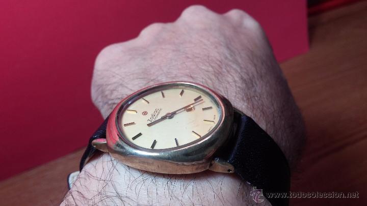 Relojes automáticos: Reloj Zodiac Automatico vintage, LTD 34 calibre 2671, de 17 jewels, años 70... - Foto 36 - 54432759