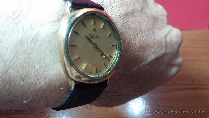 Relojes automáticos: Reloj Zodiac Automatico vintage, LTD 34 calibre 2671, de 17 jewels, años 70... - Foto 37 - 54432759