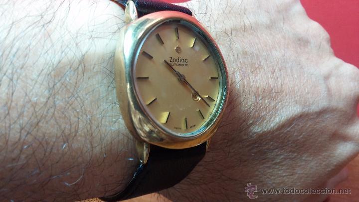 Relojes automáticos: Reloj Zodiac Automatico vintage, LTD 34 calibre 2671, de 17 jewels, años 70... - Foto 38 - 54432759