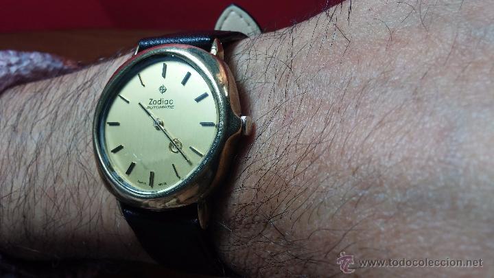 Relojes automáticos: Reloj Zodiac Automatico vintage, LTD 34 calibre 2671, de 17 jewels, años 70... - Foto 39 - 54432759