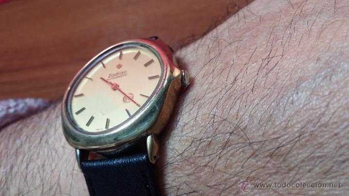 Relojes automáticos: Reloj Zodiac Automatico vintage, LTD 34 calibre 2671, de 17 jewels, años 70... - Foto 40 - 54432759