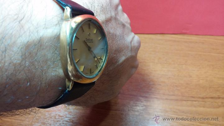 Relojes automáticos: Reloj Zodiac Automatico vintage, LTD 34 calibre 2671, de 17 jewels, años 70... - Foto 41 - 54432759