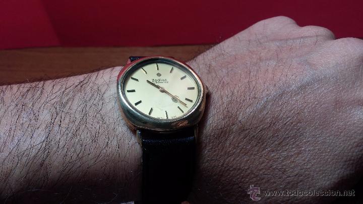 Relojes automáticos: Reloj Zodiac Automatico vintage, LTD 34 calibre 2671, de 17 jewels, años 70... - Foto 42 - 54432759