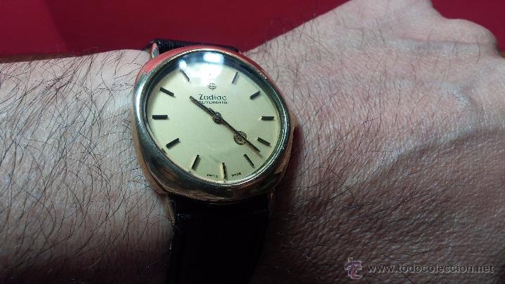Relojes automáticos: Reloj Zodiac Automatico vintage, LTD 34 calibre 2671, de 17 jewels, años 70... - Foto 43 - 54432759