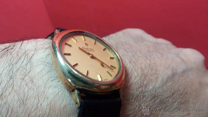 Relojes automáticos: Reloj Zodiac Automatico vintage, LTD 34 calibre 2671, de 17 jewels, años 70... - Foto 44 - 54432759