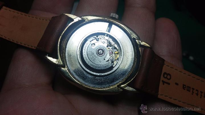 Relojes automáticos: Reloj Zodiac Automatico vintage, LTD 34 calibre 2671, de 17 jewels, años 70... - Foto 47 - 54432759