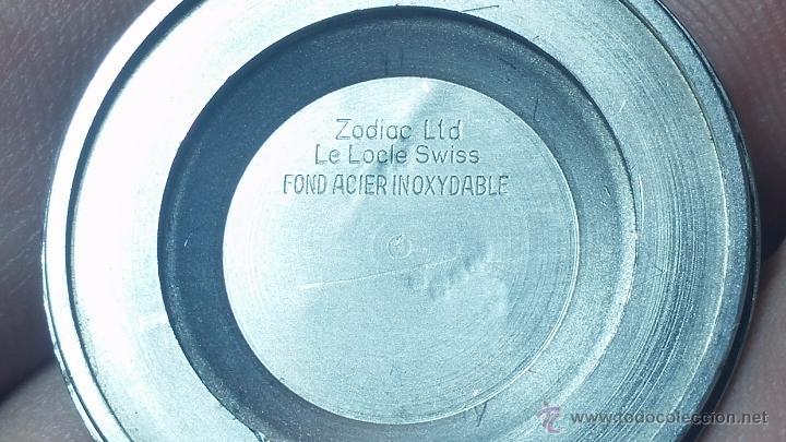 Relojes automáticos: Reloj Zodiac Automatico vintage, LTD 34 calibre 2671, de 17 jewels, años 70... - Foto 48 - 54432759