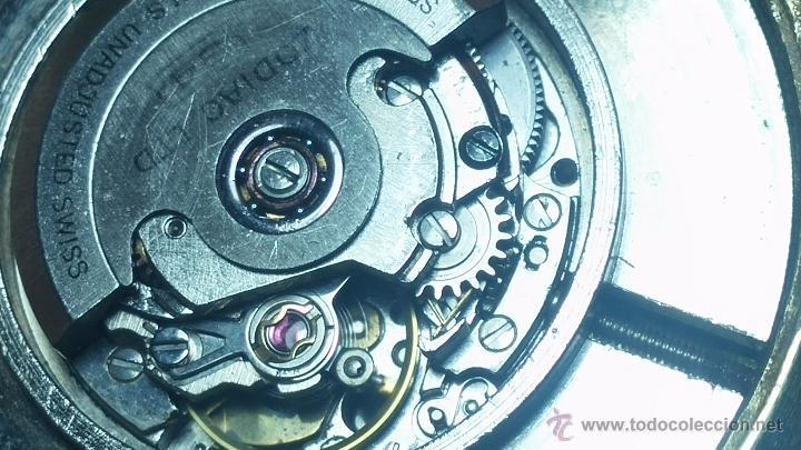 Relojes automáticos: Reloj Zodiac Automatico vintage, LTD 34 calibre 2671, de 17 jewels, años 70... - Foto 54 - 54432759