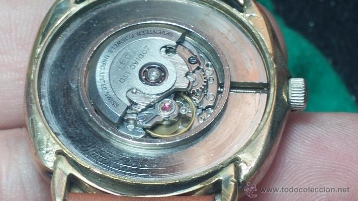 Relojes automáticos: Reloj Zodiac Automatico vintage, LTD 34 calibre 2671, de 17 jewels, años 70... - Foto 55 - 54432759
