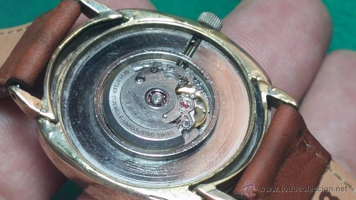 Relojes automáticos: Reloj Zodiac Automatico vintage, LTD 34 calibre 2671, de 17 jewels, años 70... - Foto 56 - 54432759