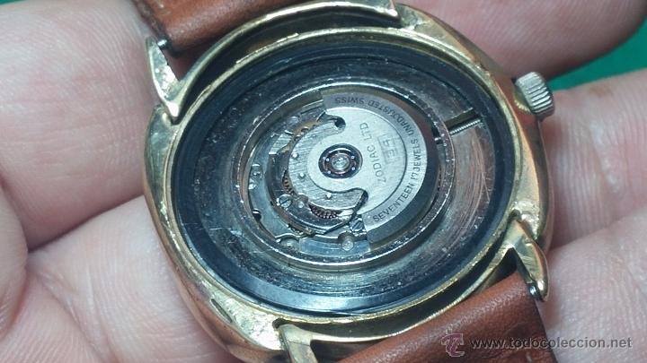 Relojes automáticos: Reloj Zodiac Automatico vintage, LTD 34 calibre 2671, de 17 jewels, años 70... - Foto 57 - 54432759