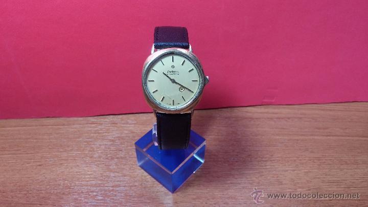 Relojes automáticos: Reloj Zodiac Automatico vintage, LTD 34 calibre 2671, de 17 jewels, años 70... - Foto 58 - 54432759