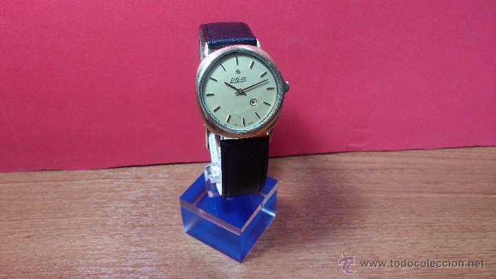 Relojes automáticos: Reloj Zodiac Automatico vintage, LTD 34 calibre 2671, de 17 jewels, años 70... - Foto 59 - 54432759