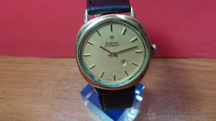 Relojes automáticos: Reloj Zodiac Automatico vintage, LTD 34 calibre 2671, de 17 jewels, años 70... - Foto 61 - 54432759