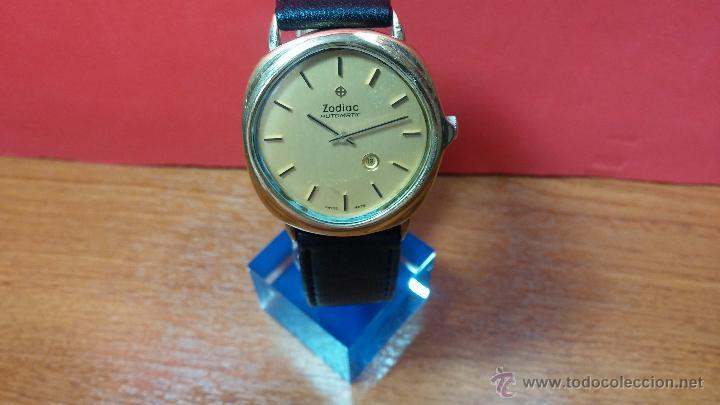 Relojes automáticos: Reloj Zodiac Automatico vintage, LTD 34 calibre 2671, de 17 jewels, años 70... - Foto 62 - 54432759