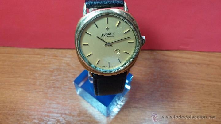 Relojes automáticos: Reloj Zodiac Automatico vintage, LTD 34 calibre 2671, de 17 jewels, años 70... - Foto 64 - 54432759