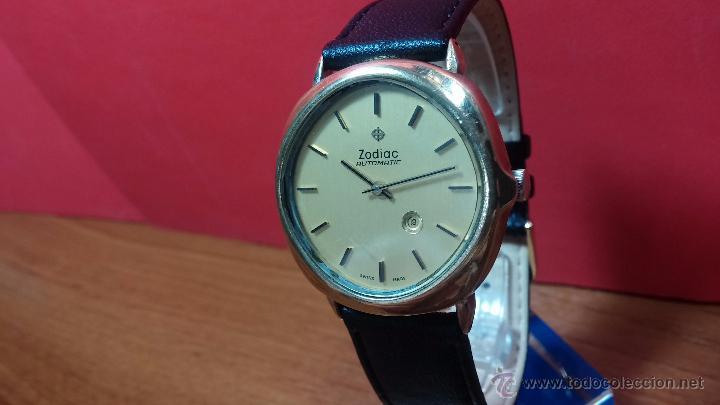 Relojes automáticos: Reloj Zodiac Automatico vintage, LTD 34 calibre 2671, de 17 jewels, años 70... - Foto 65 - 54432759