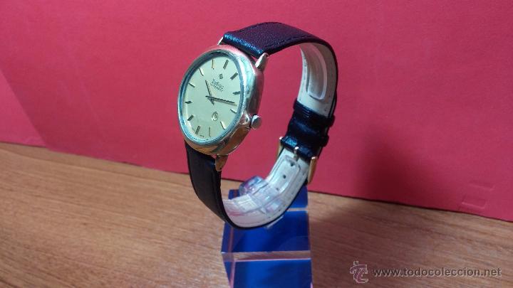 Relojes automáticos: Reloj Zodiac Automatico vintage, LTD 34 calibre 2671, de 17 jewels, años 70... - Foto 66 - 54432759