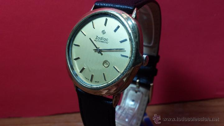 Relojes automáticos: Reloj Zodiac Automatico vintage, LTD 34 calibre 2671, de 17 jewels, años 70... - Foto 67 - 54432759