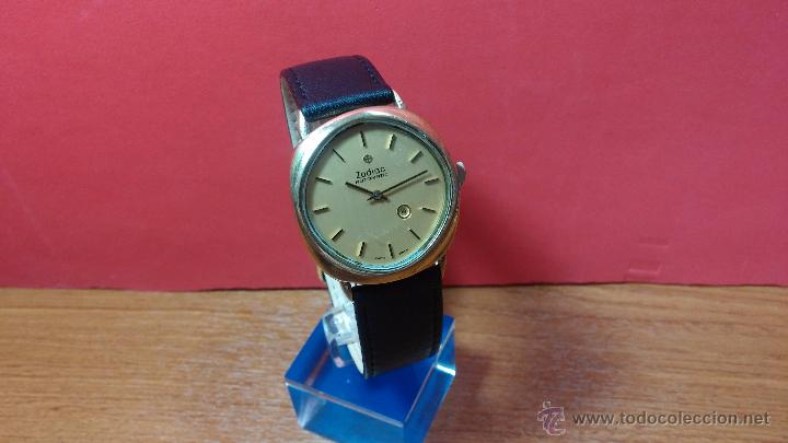 Relojes automáticos: Reloj Zodiac Automatico vintage, LTD 34 calibre 2671, de 17 jewels, años 70... - Foto 69 - 54432759